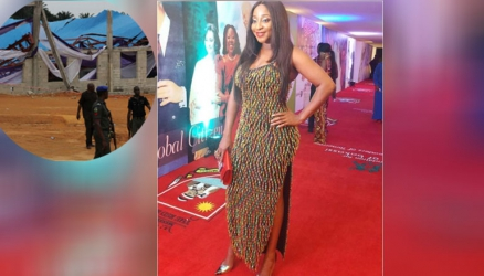 How Nollywood actress Ini Edo escaped death in church