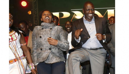 I don't want wife number two, DP William Ruto tells Kakamega in-laws