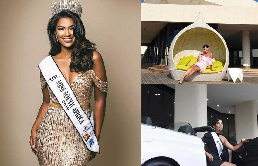 I feel like a movie star: Miss SA purchases a Benz, new house