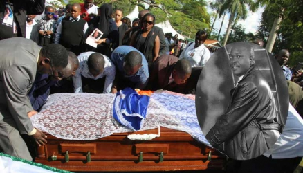 Is Jacob Juma burial 'torch' working on his killers?