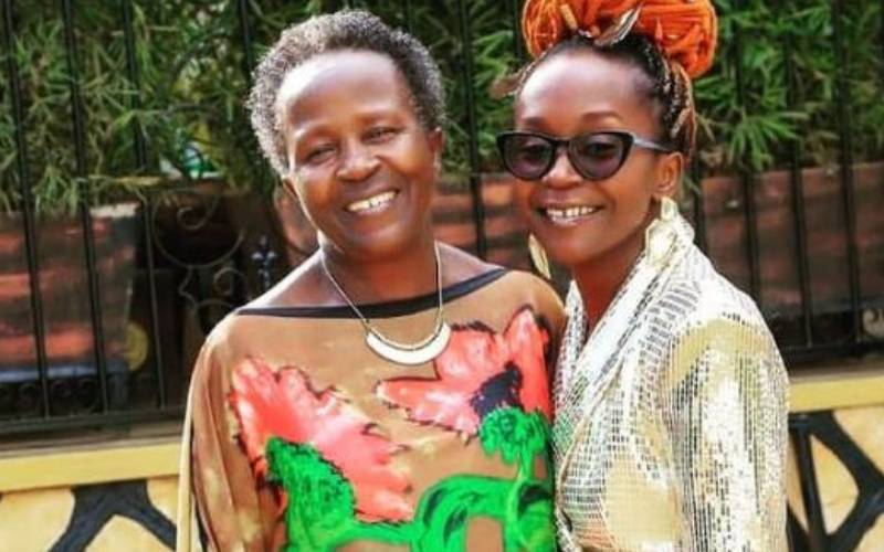 Kansiime's mum laid to rest
