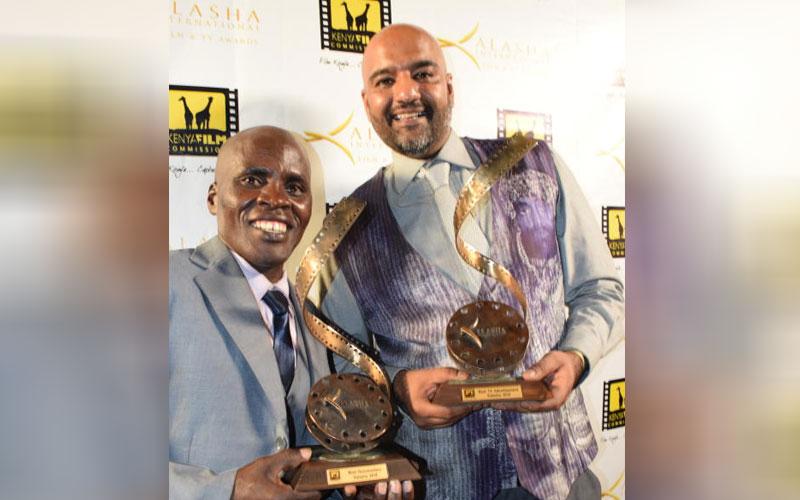 Kisilu Musya with Amit Rana Rakha
