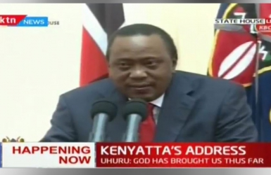 It's not your fault, Uhuru assures Kenyans as he breaks silence on historic Supreme Court ruling