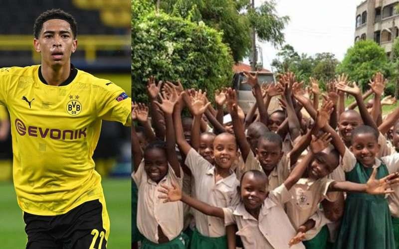Jude Bellingham: Cult hero at Birmingham City, Borussia Dortmund - and school in Kenya