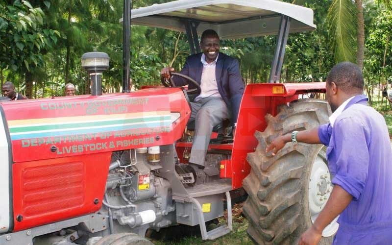 Judge opens up DP Ruto's 1,000-acre farm over water row