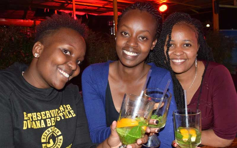 Sampo Shumary,Bernice Wairimu and Esther Ndolo - F