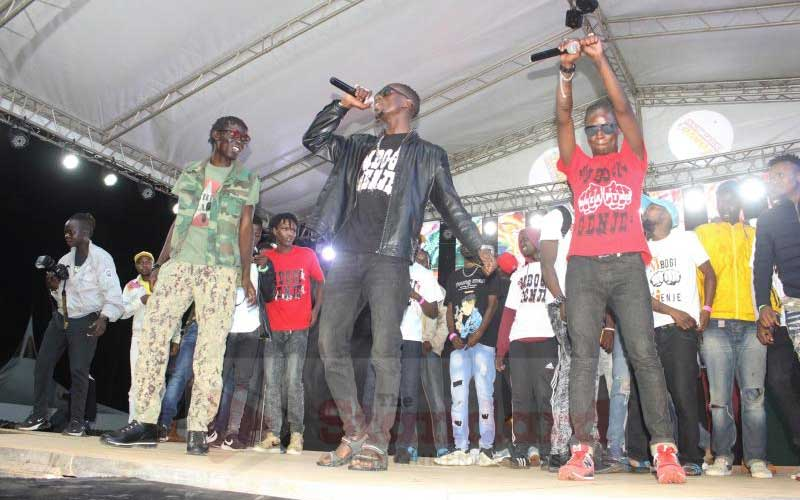 Mbogi Genje respond to allegations they were behind violence at Gengetone Festival