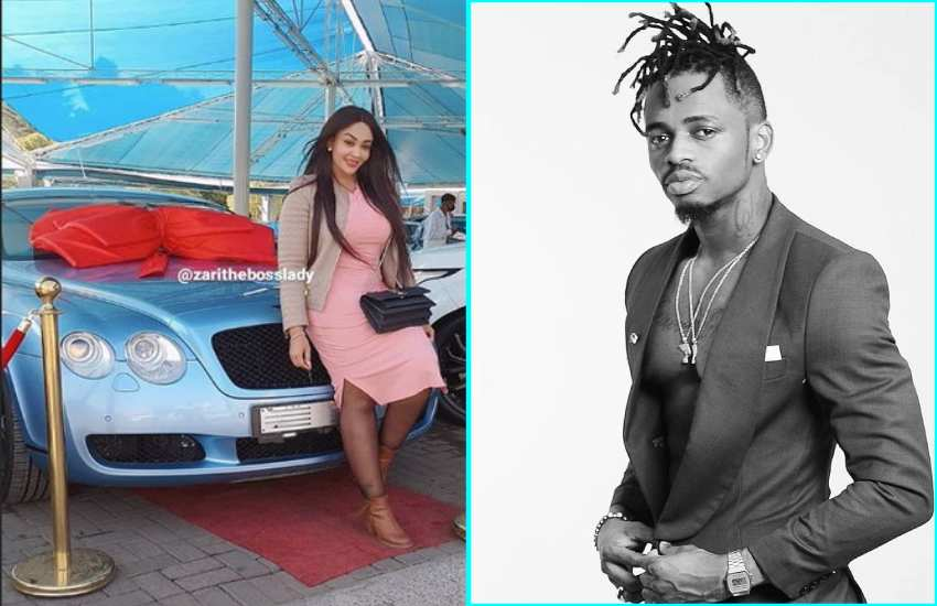 Mending ties? Diamond Platnumz gifts Zari Hassan brand new Bentley