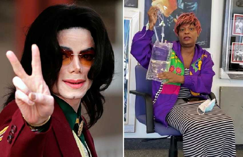 Michael Jackson's blood-stained IV drip is being auctioned by family member