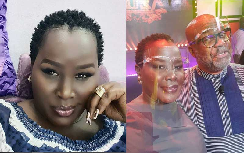 My Nubian queen! Emmy Kosgei's husband praises singer's beauty