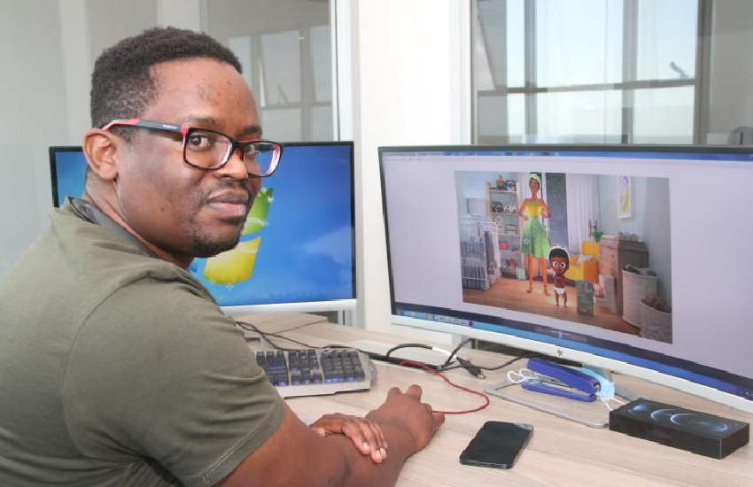 My playful hobby turned into a goldmine – 'Faiba' animator