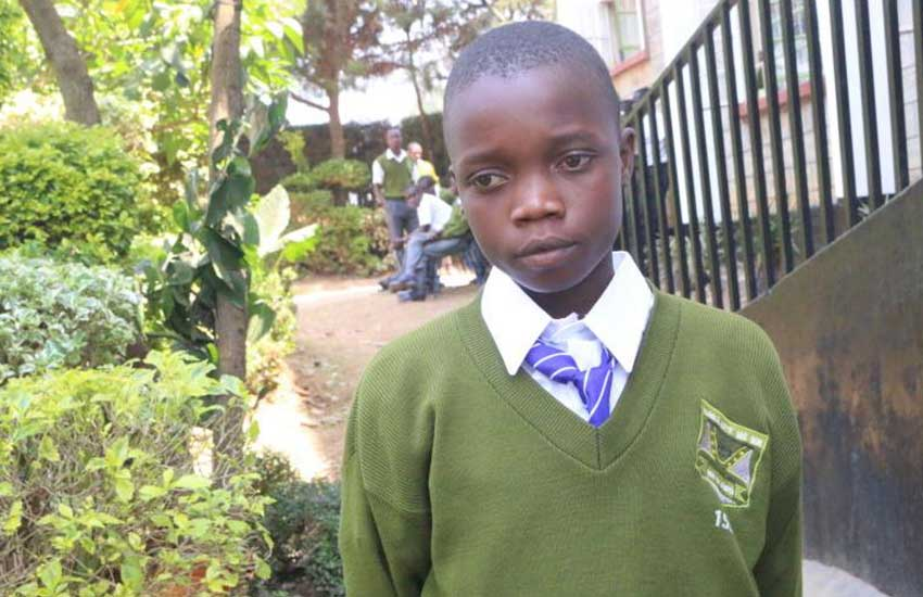 Disabled boy admits self to school in rags with no school fees