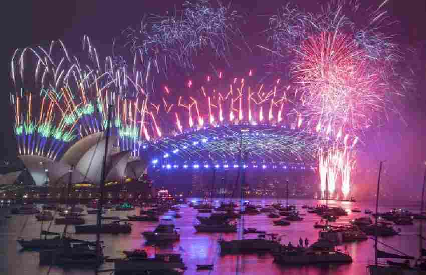 New Year's celebrations subdued around the world by Covid-19