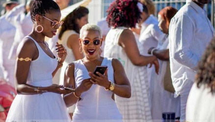 No beer or hard liquor at all-white party