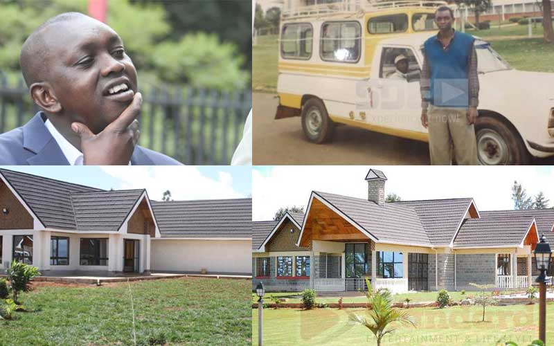 Oscar Sudi's rise: From makanga to owning Sh100 million mansion