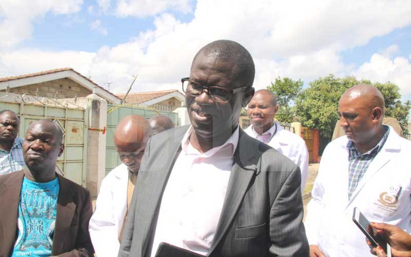 Police say Ruto guard died in his house despite neighbours not hearing gunshot