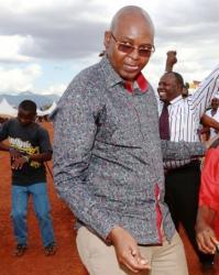 President Uhuru solved nothing by burning ivory - Taita-Taveta Governor Mruttu