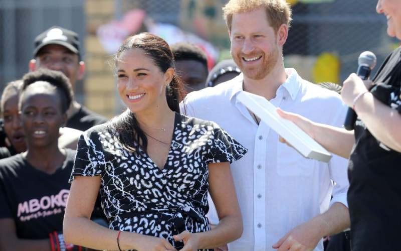 Prince Harry and Meghan Markle's Africa tour cost taxpayers Sh35million