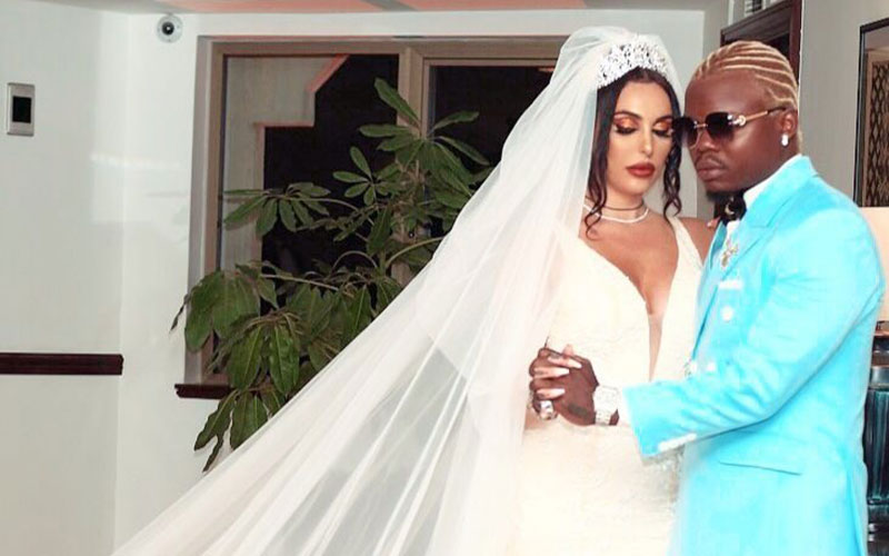Harmonize confirms break up with wife, to spend more time with daughter