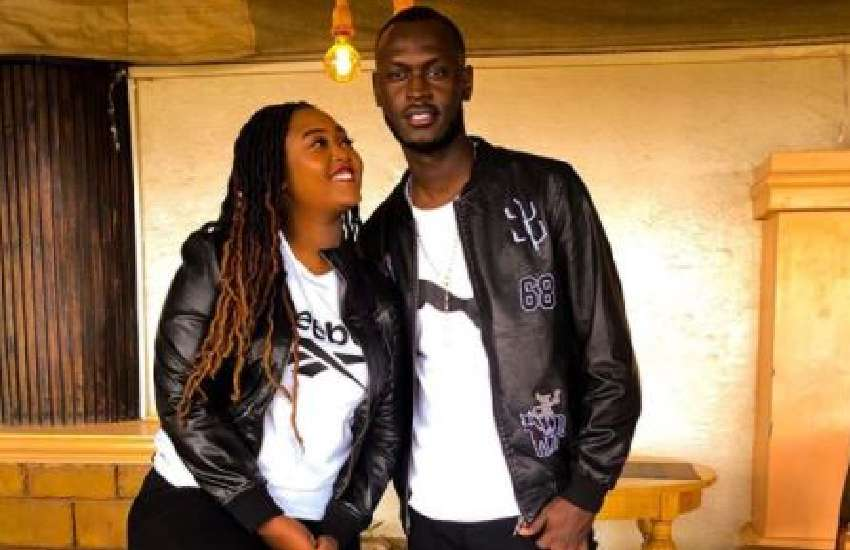 Rapper King Kaka celebrates wife, Nana Owiti, in sweet post