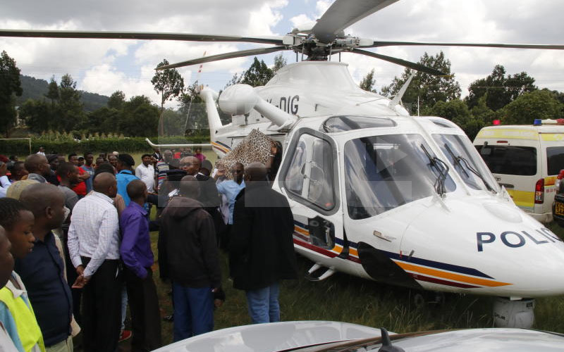 Revealed: Uhuru ordered Tuju to be airlifted after accident