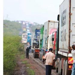 Salgaa, where drivers take HIV tests in their trucks
