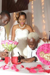 Seven dramatic things that happened at Daddy Owen's wedding