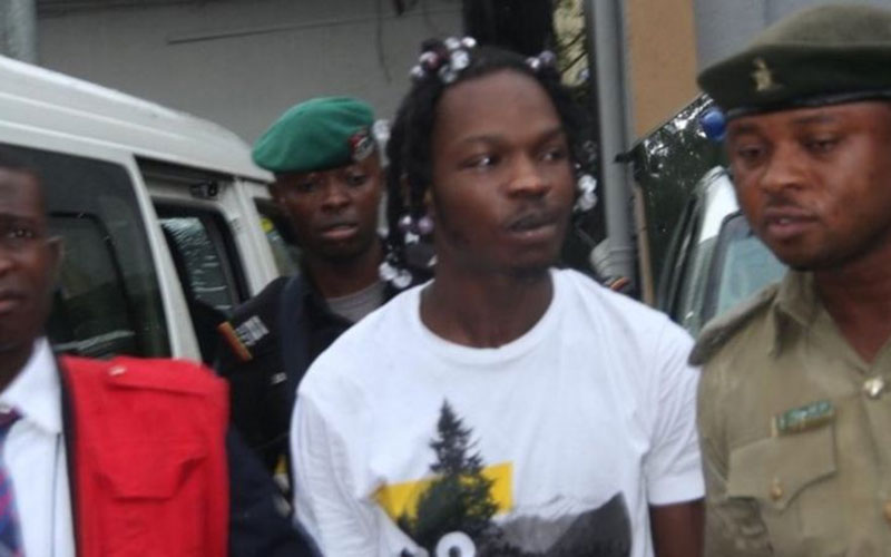Singer Naira Marley charged with flouting COVID-19 travel ban