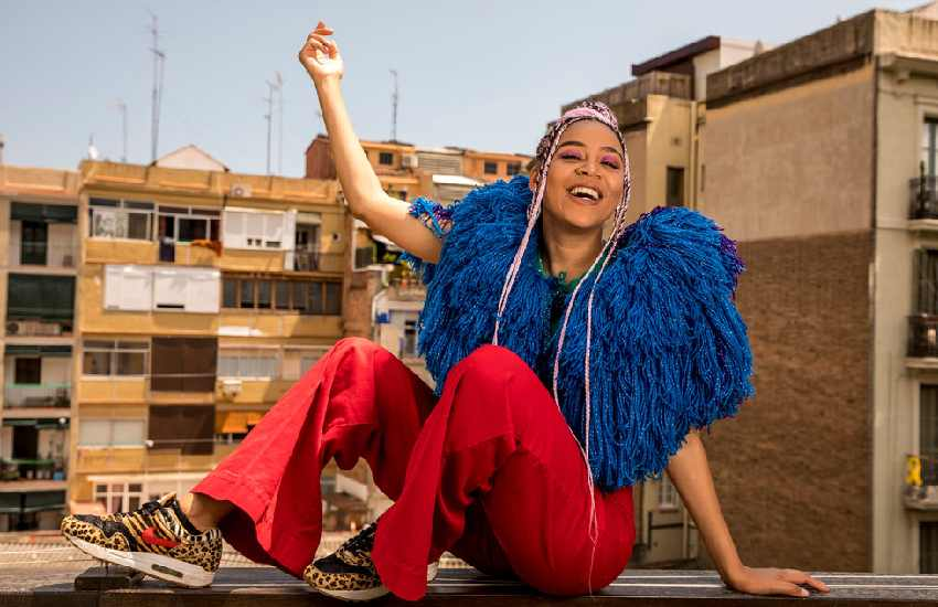 Singer Sho Madjozi joins Travis Scott, Future roster at Epic Records
