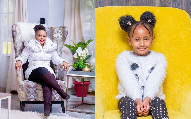 Size 8's reaction as daughter is voted East Africa's most stylish celebrity kid
