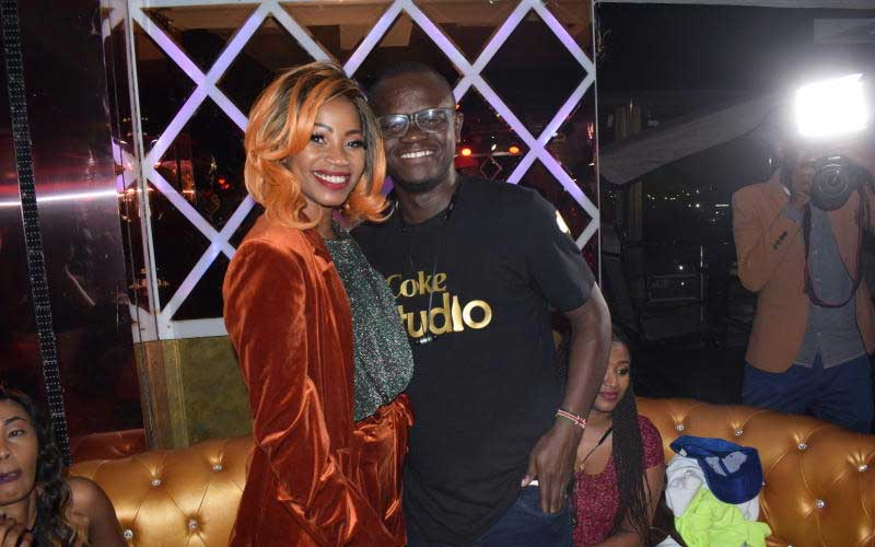 Ugandan artist Sheebah and Coke studio project man