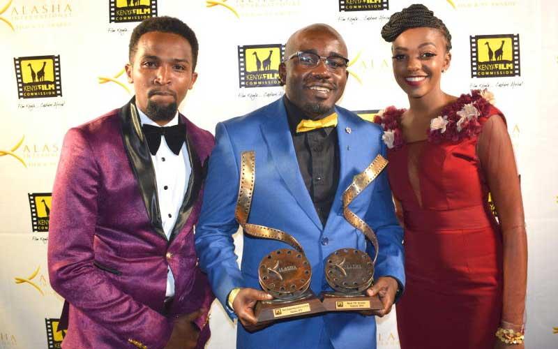 Pascal Tokodi, Reuben Odanga and Celestine Gachuhi