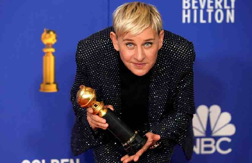 Talk show host Ellen DeGeneres tests positive for coronavirus