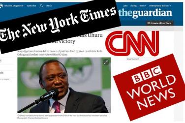 The World breaks historic Supreme Court ruling on Uhuru Kenyatta election