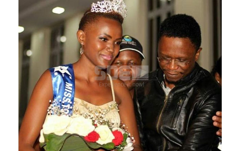 Ababu Namwamba and beauty queen proud god-parents of baby boy