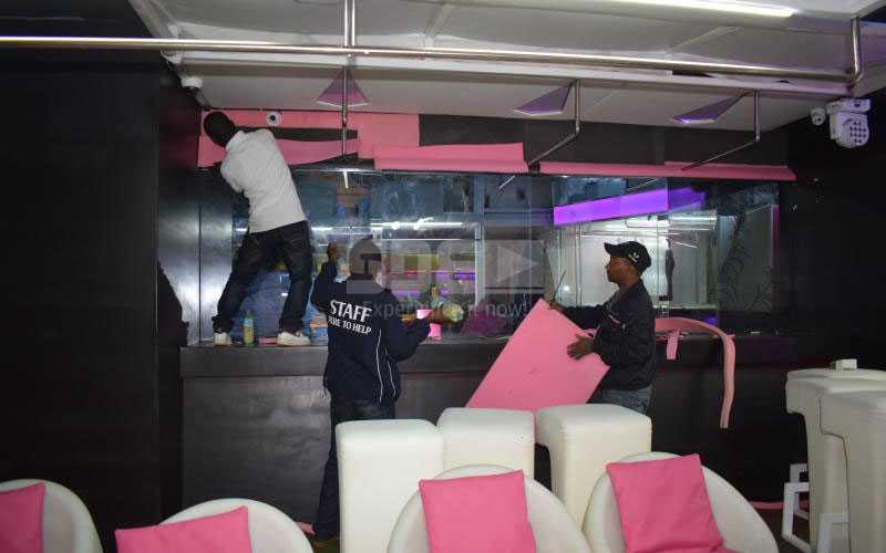 B-Club soundproofs its premises