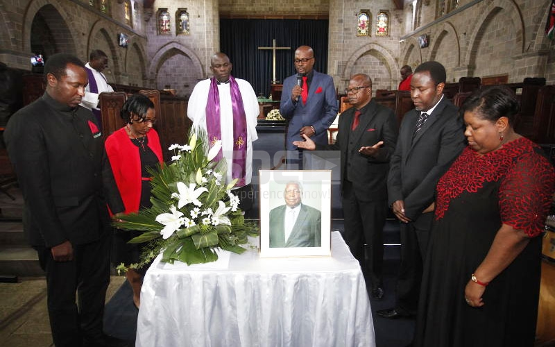 Billionaire Wilfred Murungi's requiem mass held days after odd burial
