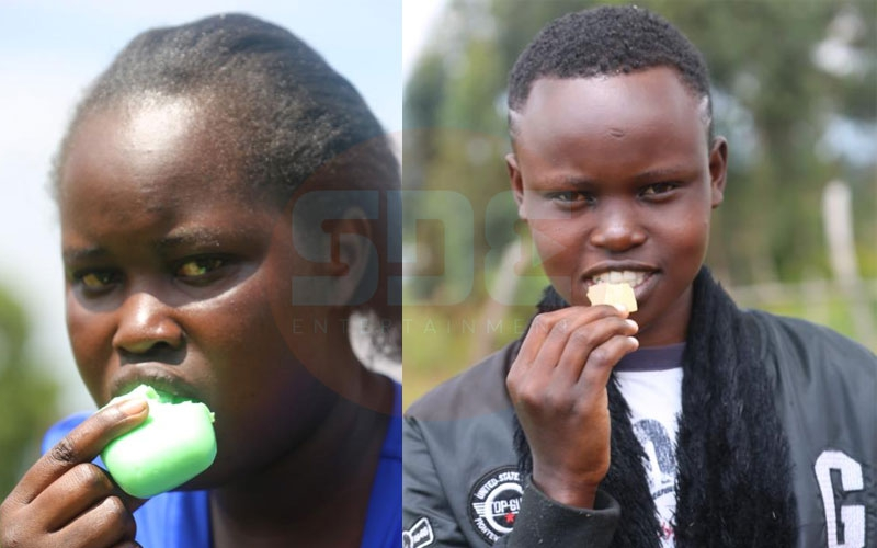 Bizarre habit: Meet Nandi sisters who can't stop eating soap