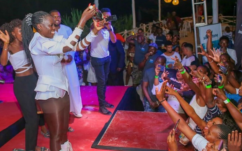 Blow by blow account of how Akothee's concert went down