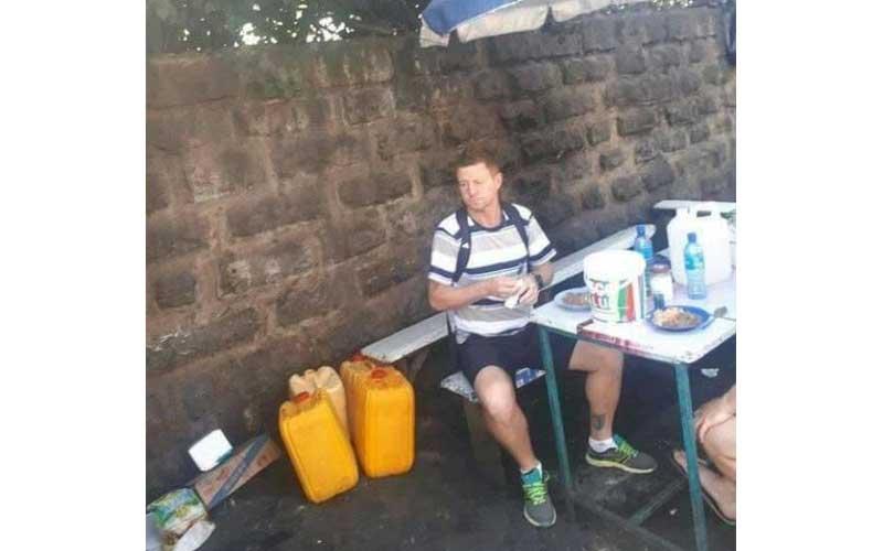 Broke Gor coach bathed in pool, ate matumbo ya kibanda