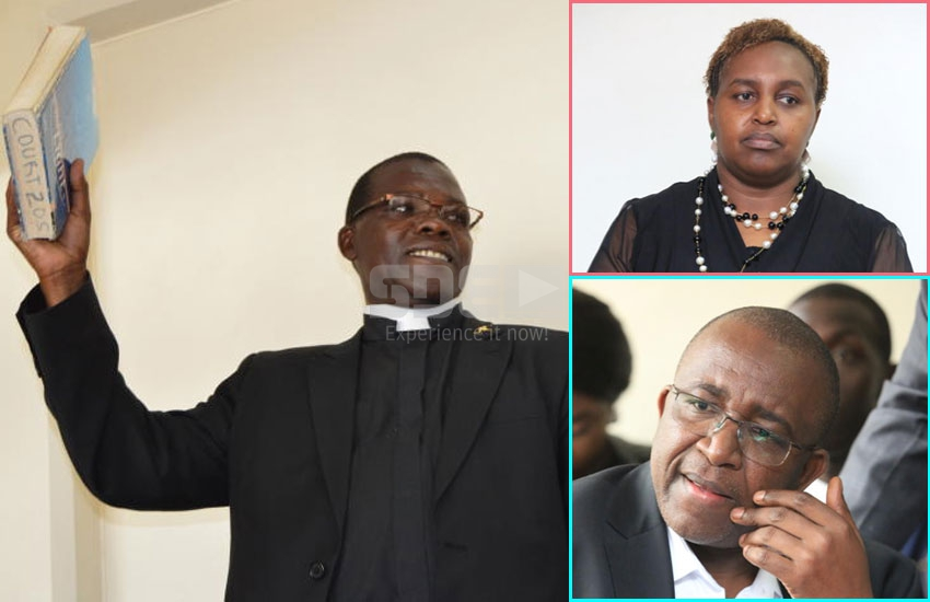 Priest reveals he solemnised marriage between Linturi and Mercy Kaimenyi