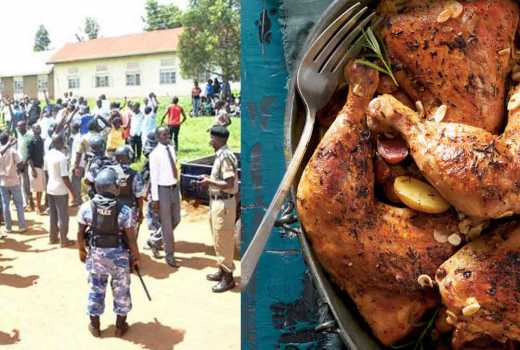 Comrades must eat well: University students strike after chicken misses in menu thrice