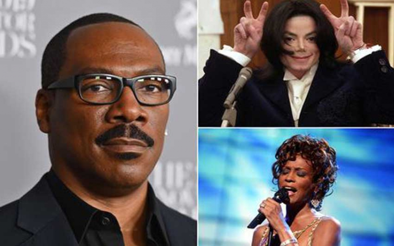 Eddie Murphy wanted Michael Jackson and Whitney Houston to 'quit Hollywood'