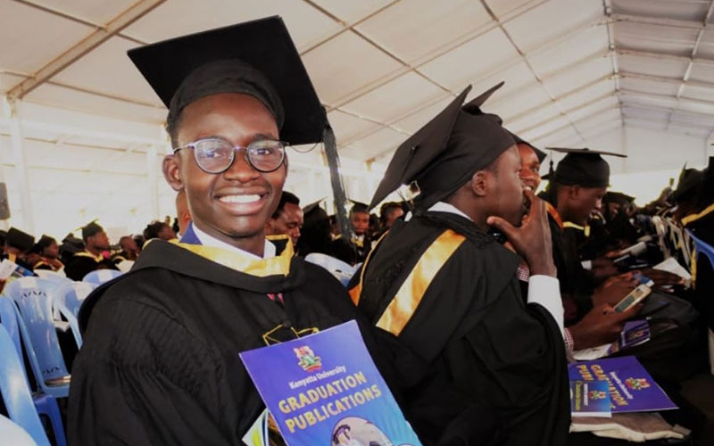 EXCLUSIVE: MCA Tricky graduates with degree in Mechanical Engineering from KU