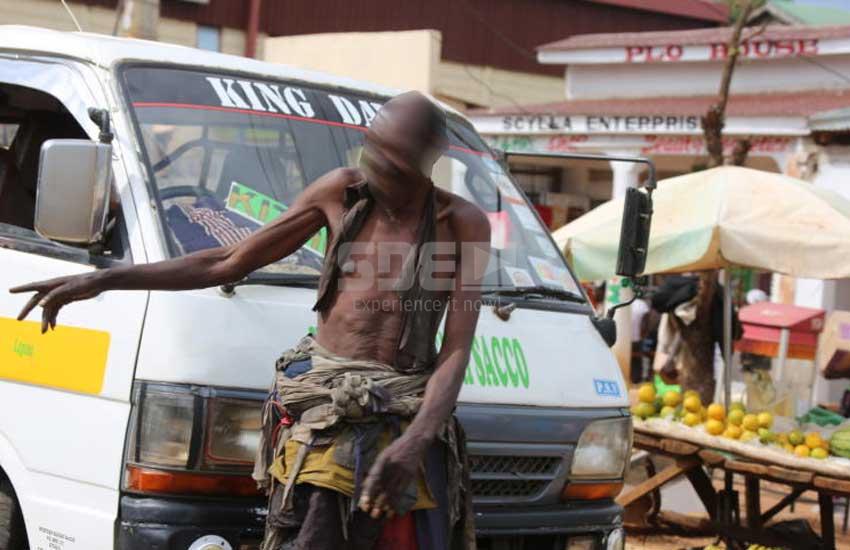 Exposed: Luanda town's 'mad men' who sell 'bangi chini ya maji'