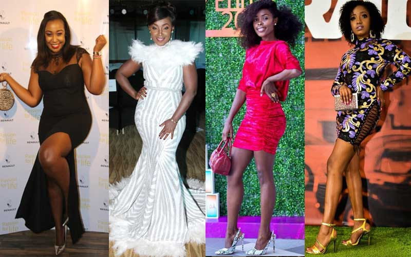 Four of the best Kenyan celebrities' red carpet looks of 2019