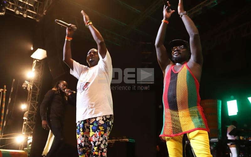 Gigigidi Majimaji: Homecoming Kings of Kisumu thrill Twaweza Live crowd