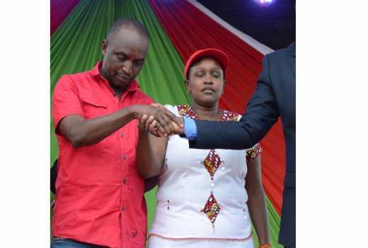 Gilgil MP Martha Wangari is still my wife- Peter Karanja