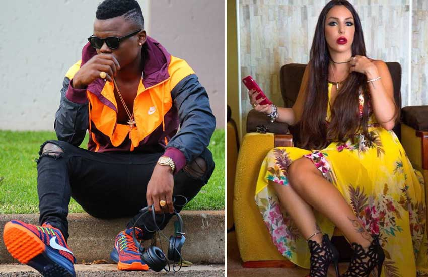 Harmonize in DM storm after lover exposes him for 'tuning' Kenyan woman