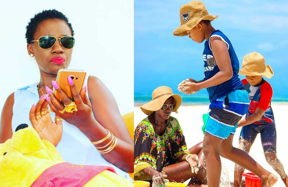 Has Akothee won court battle with mzungu baby daddy over custody of son?